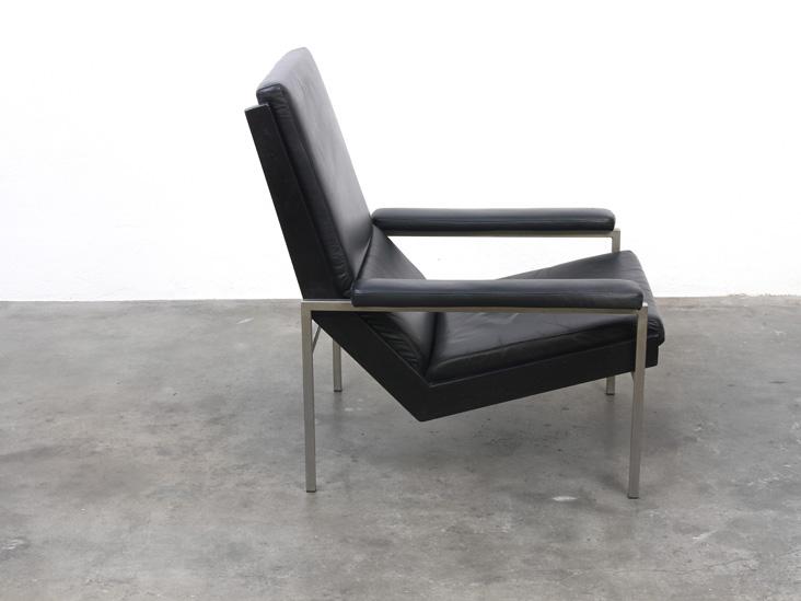 Zwart leren fauteuil cool eames ea stoel zwart leer with zwart