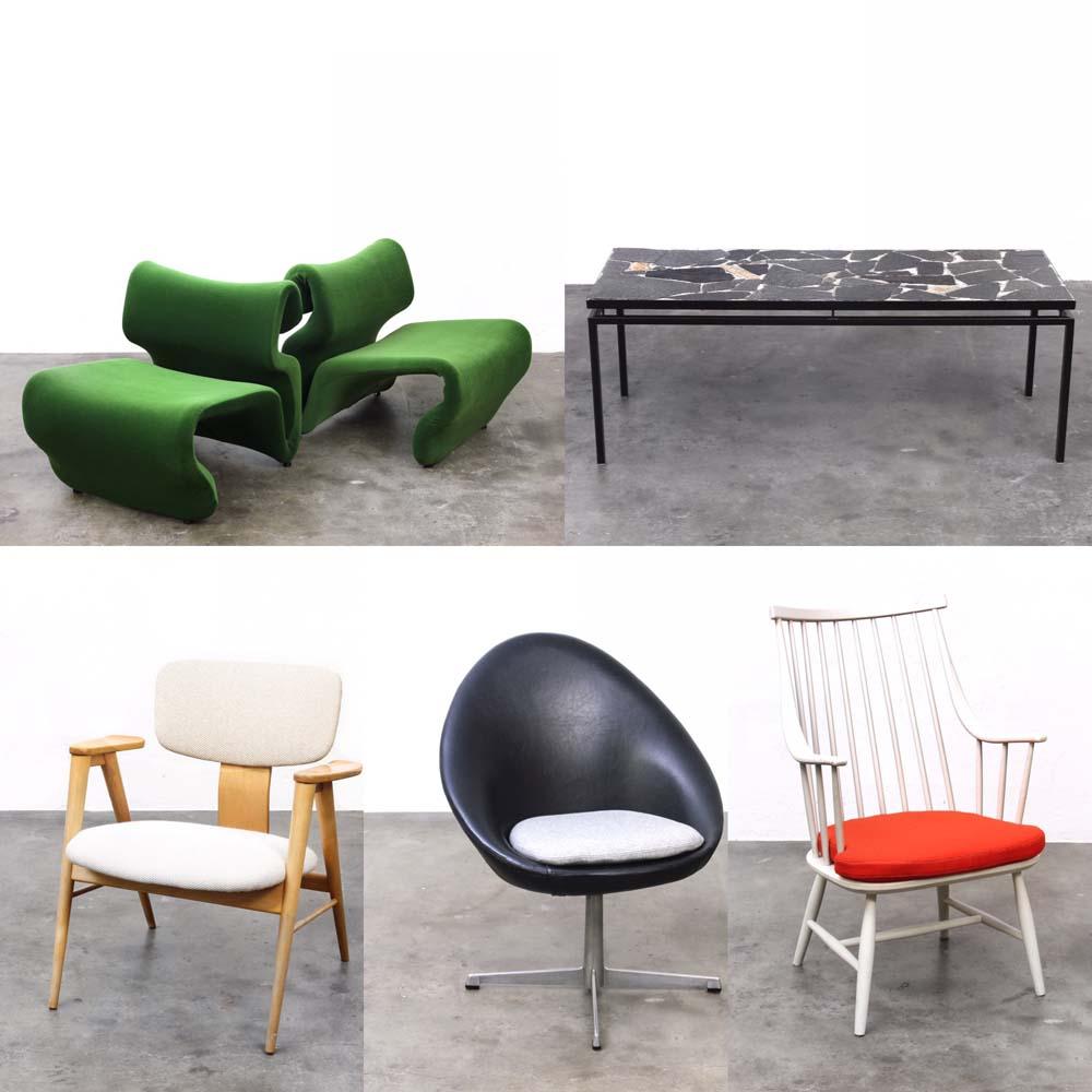 Bebop vintage furniture tweedehands meubels